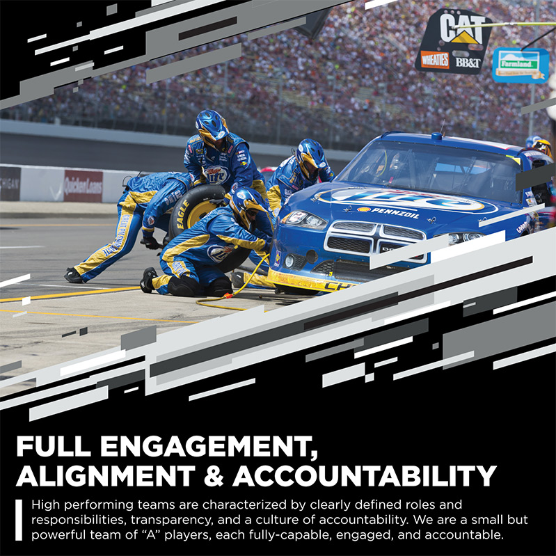 Full Engagement, Alignment & Accountability